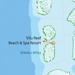 Dhaalu Atoll Map - Vilu Reef Beach & Spa Resort